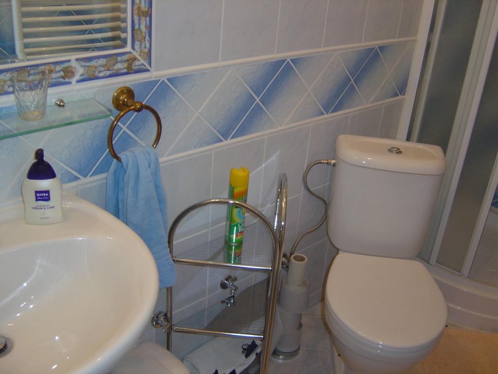 Kúpelňa 1 izbového bytu na prenájom v RD Nitra - centrum